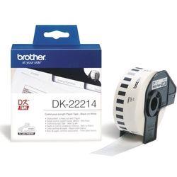 Brother etykiety 12 mm. x 30,48 m. DK-22214, DK22214