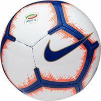 Piłka nożna, Piłka nożna Nike Serie A NK Skils SC3375-100 biało-pomarańczowo-niebieska