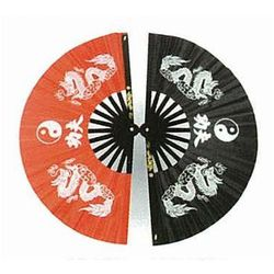 Wachlarz do Kung Fu - Dragon with Ying Yang design (GTTD464S)
