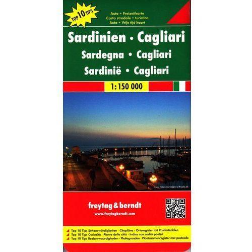 Mapy i atlasy turystyczne, Sardynia. Mapa samochodowa, składana 1:300 000. Marco Polo (opr. twarda)