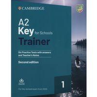 Książki do nauki języka, A2 Key for Schools Trainer 1 for the Revised Exam from 2020 (opr. miękka)