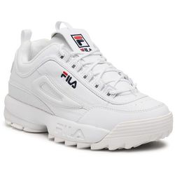 Sneakersy FILA - Disruptor Wmn Low 1010302.1FG White