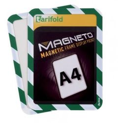 Kieszeń samoprzylepna A4 (2szt.), przestawna, zielono-biała