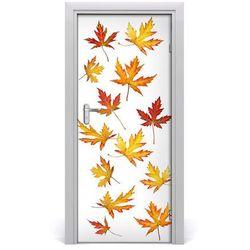 Okleina Naklejka fototapeta na drzwi Jesienne liście