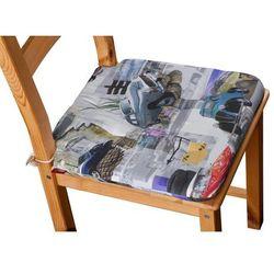 Dekoria Siedzisko Olek na krzesło, samochody retro, 42x41x3,5cm, Freestyle do -30%