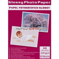 Papier fotograficzny A4 230 g/m2 (20 szt., Arte)