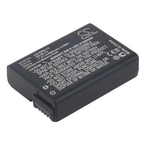 Akumulatory do aparatów, Nikon EN-EL14 900mAh 6.66Wh Li-Ion 7.4V (Cameron Sino)