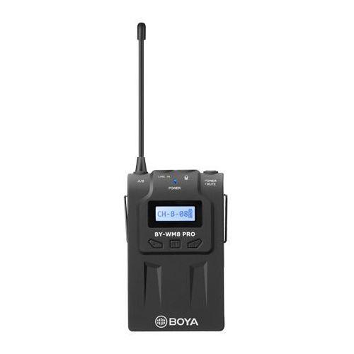 Pozostały sprzęt estradowy, BOYA TX8 PRO Bezprzewodowy cyfrowy nadajnik typu Bodypack