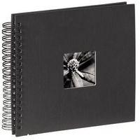 Fotoalbumy, Hama Album FINE ART 36x32/50 czarna okładka/ czarne kartki