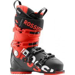 Buty narciarskie Rossignol Allspeed 130 czarne/czerwone 2018/2019