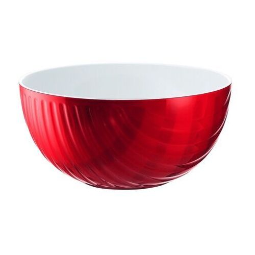 Misy i miski, Miska Mirage, średnica 25.00 cm, czerwona - Ø 25,00 cm