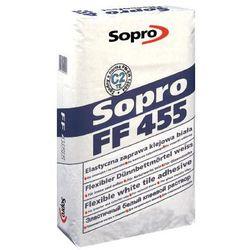 SOPRO FF 455- biała, elastyczna zaprawa klejowa, 5 kg