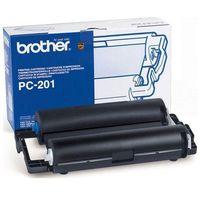 Akcesoria do faksów, Wyprzedaż Oryginał Folia do faksu Brother PC201 do Brother FAX1010 FAX1020 FAX1020e FAX1020Plus FAX1025mfc FAX1030 FAX1030e, 420 stron