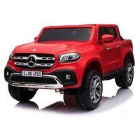Pojazdy na akumulator, HECHT MERCEDES BENZ XMX606 RED SAMOCHÓD ELEKTRYCZNY AKUMULATOROWY TERENOWY AUTO JEŹDZIK POJAZD ZABAWKA DLA DZIECI promocja (--15%)
