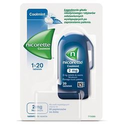 NICORETTE COOLMINT 2mg x 20 tabletek do ssania