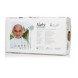 NATY NATURE BABYCARE Ekologiczne pieluszki 4 (7-18Kg) 46 Szt