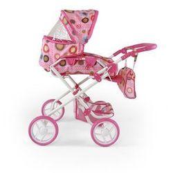 Wózek dla lalek Paulina brąz