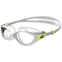 speedo Futura Biofuse Flexiseal Gogle Kobiety, green/clear 2019 Okulary do pływania