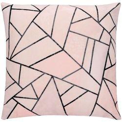 Poszewka dekoracyjna 40x40cm na poduszkę, jasiek różowy