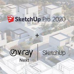 Sketchup Pro 2020 PL + V-Ray Next