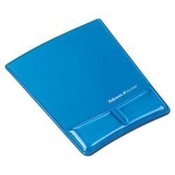 Podkładka pod mysz i nadgarstek Health-V Crystal niebieska