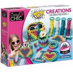 CLEMENTONI Crazy Chic zestaw do tworzenia mody WOW Kreacje handmade 50642