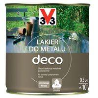 Lakiery, Lakier do metalu V33 Deco bezbarwny połysk 0,5 l
