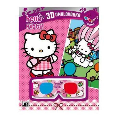 Książki dla dzieci, 3D vymaľovanky/ Hello Kitty Hello Kitty