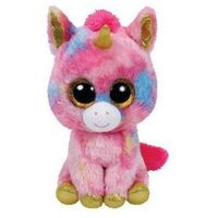 Pluszaki zwierzątka, Beanie Boos Fantasia- kolorowy jednorożec 20 cm Maskotka TY INC