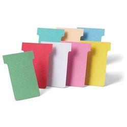 Karteczki NOBO T-Card rozmiar 2 100szt. różowy