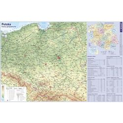 Podkładka na biurko Mapa Polski