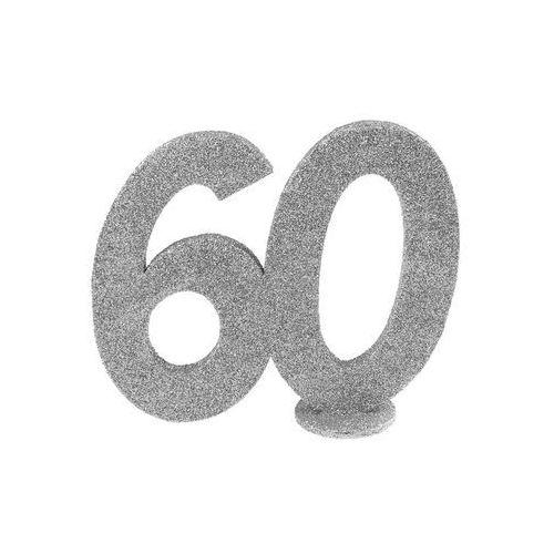 Pozostałe wyposażenie domu, Dekoracja stołu Sześćdziesiątka srebrna 60-tka - 1 szt.