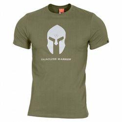 Koszulka T-shirt Pentagon Ageron Spartan Helmet Olive (K09012-SH-06)