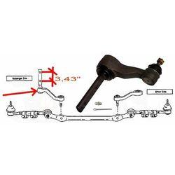 Ramie prowadzące mechanizm układu kierowniczego Lincoln Navigator K8747 rozstaw 3,43