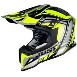 KASK JUST1 J12 FLAME YELLOW-BLACK