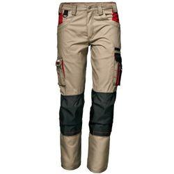 Spodnie do pasa HARRISON w kolorze khaki