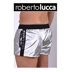 Szorty Kapielowe Męskie Roberto Lucca 80142 40049 Silver