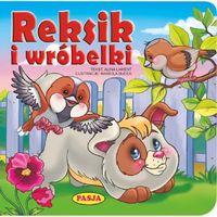 Książki dla dzieci, REKSIK I WRÓBELKI - Alina Lament OD 24,99zł DARMOWA DOSTAWA KIOSK RUCHU (opr. kartonowa)