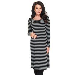 Codzienna sukienka ciążowa w paski Salsa