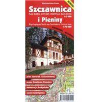 Mapy i atlasy turystyczne, Szczawnica plan miasta (skal 1:7 000) i Pieniny mapa turystyczna (skala 1:20 000) (opr. broszurowa)