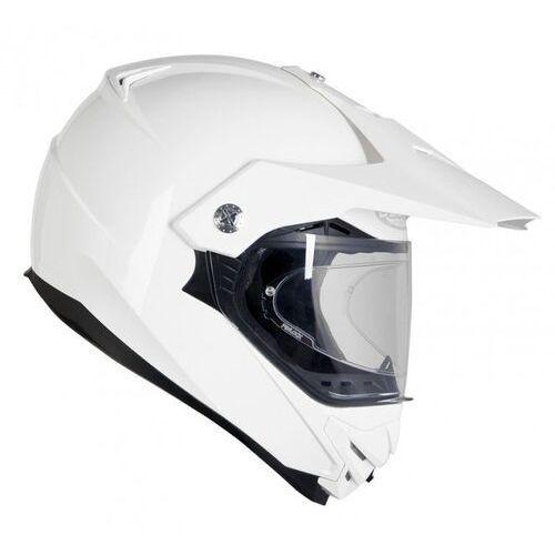 Kaski motocyklowe, KASK OZONE CROSS MXT-01 PINLOCK READY WHITE