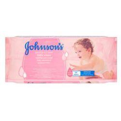 JOHNSONS 56szt Gentle all over Łagodne Chusteczki oczyszczające dla dzieci i niemowląt
