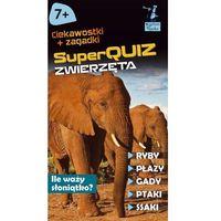 Literatura młodzieżowa, Kapitan Nauka SuperQuiz Zwierzęta