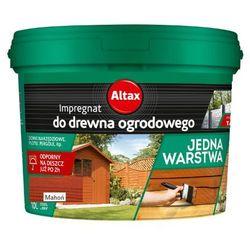 ALTAX- impregnat do drewna ogrodowego, mahoń, 10 l