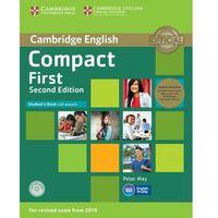 Językoznawstwo, Compact First 2nd Edition. Podręcznik z Kluczem + CD-ROM + CD (opr. miękka)