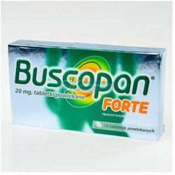 Buscopan FORTE tabletki na bóle brzucha napięcie skurcze kolki 10tabl