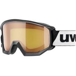 UVEX Athletic LGL Gogle, black/lasergold lite 2019 Gogle narciarskie