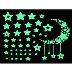 Naklejki ścienne - gwiazdy fluorescencyjne