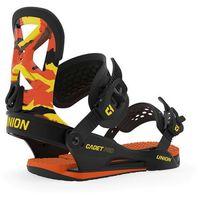 Wiązania snowboardowe, wiązania UNION - Cadet Pro Orange Camo (ORANGE CAMO) rozmiar: M