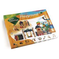 Drewniane klocki magnetyczne Playground 173 el.